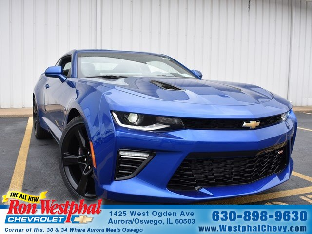 New 2018 Chevrolet Camaro 2ss Coupe In Aurora N18107 Ron Westphal