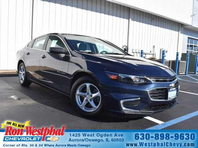 Certified Pre-Owned 2017 Chevrolet Malibu LS w/1LS