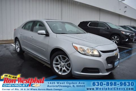 Certified Pre-Owned 2015 Chevrolet Malibu LT w/1LT